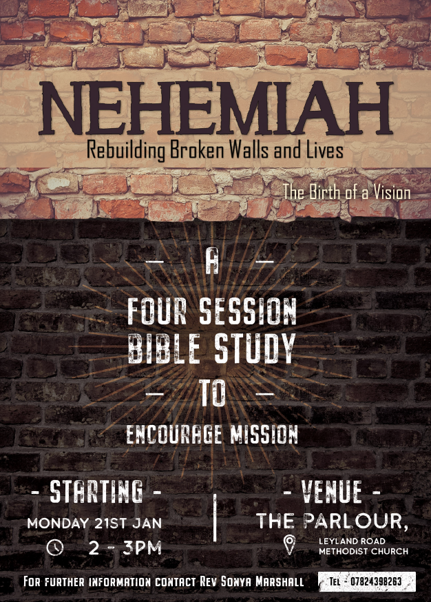 Nehemiah Study @ Church Parlour